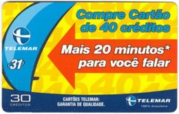 BRASIL L-776 Magnetic Telemar - Used - Brésil