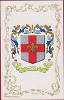 Heraldiek Heraldry Héraldique Heraldik Wappenkunde Heraldica Lincoln  Lincolnshire Coat Of Arms East Midlands - Lincoln