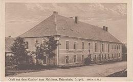 AK Reizenhain Reitzenhain Pohranici Gasthof Malzhaus Erzgebirge A Satzung Marienberg Jöhstadt Sebastiansberg Komotau - Sudeten