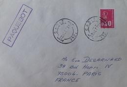 A339 - POSTE MARITIME - ✉️ - PAQUEBOT - CADIX (ESPAGNE) 1973 > PARIS (FRANCE) - Maritieme Post