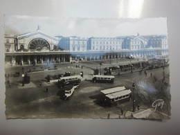 Carte Postale PARIS Gare De L'Est - Gares - Sans Trains