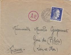 ALLEMAGNE IIIe REICH .ENVELOPPE DE COURRIER  ENVOYÉ DE  REICHENBERG SUDETENLAND LE 28 JUILLET 1943 - Germany