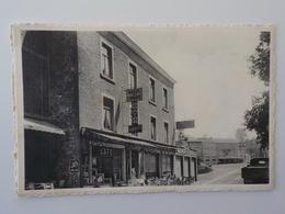 1950 CP Hastière Par Dela Hôtel De L' Abbaye Cuisine Réputée Truite Vivante Café - Hastière