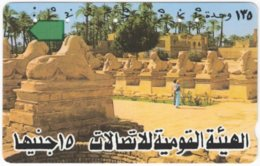 EGYPT A-385 Optical - Culture, Historic Statue - Used - Egypte