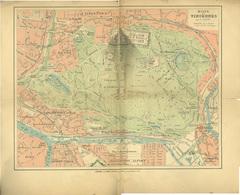 St Mandé Vincennes Charenton Joinville PLan Du Bois De Vincennes 36 Par 42 Cm - Landkarten