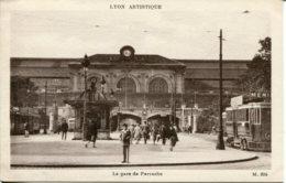 CPA -  LYON - LA GARE DE PERRACHE (ETAT PARFAIT) - Altri