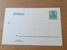 KS2 Deutsches Reich Ganzsache Stationery Entier Postal P 58X Gelbliches Papier - Germania