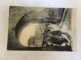 CPA MAROC - SAFFI (SAFI) - La Porte Du Chabah Dans Les Remparts Portugais - Otros