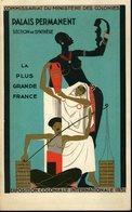 Paris Bois De Vincennes Exposition Coloniale 1931 Commissariat Du Ministère Des Colonies 12x19cm - Dépliants Touristiques