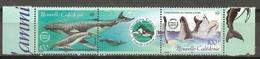 Nouvelle Calédonie N° 844 845 Baleine à Bosse - New Caledonia