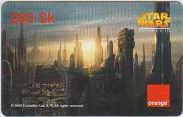 CINEMA - MOVIE - SLOVAKIA - ORANGE - STAR WARS III - Cinema