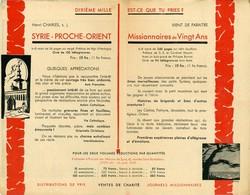 Paris Bois De Vincennes Exposition Coloniale 1931 Mission Jésuites Syrie 14x21cm - Publicités