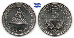 Nicaragua - 5 Cordobas 2000 (As UNC) - Nicaragua