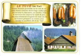 25 Grands Paysages De Franche Comté Le Tuyé Ou Tué Cheminée En 2004 Charcuterie Saucisses - Franche-Comté