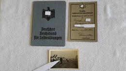 Reichsbund Für Leibesübungen Ausweis Mitgliedskarte 1935 Und Foto - Documents