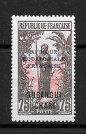 OUBANGUI-CHARI : N° 58 **  TB (cote 2,10 €) - Ungebraucht