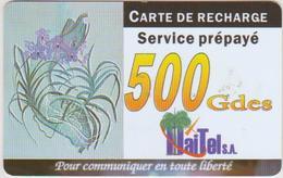 HAITI - ORCHID - 500GDES - 3/30/02 - Haïti