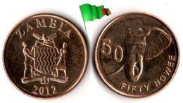 Zambie - 50 Ngwee 2012 (UNC) - Zambia