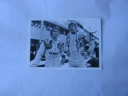 Autographe - Automobile - Jean-Pierre Jabouille - Car Racing - F1