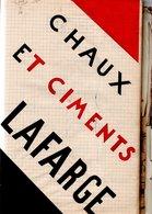 07 CRUAS LE TEIL VIVIERS ARDECHE LAFARGE CARTE PHOTO PLAN CIMENT CIMENTS USINE INDUSTRIE RHONE - Historical Documents