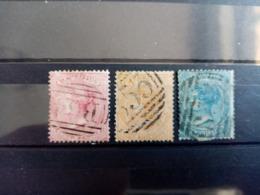 ILE MAURICE .1863 . Effigie De La Reine VICTORIA . Oblitérés . Côte YT 2020 : 125,00 € - Maurice (...-1967)