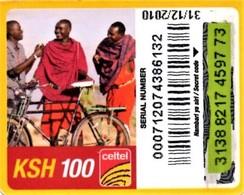 *KENIA* - Scheda Usata (mini Card) - Kenia