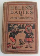 Helen's Babies John Habberton Illustrated A.L. Burt Company 1881 Vintage Rétro - Romans