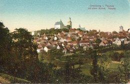 CRONBERG I TAUNUS ( Allemagne  ) - Mit Altem Schloss , Talseite . - Kronberg