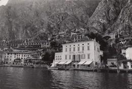LIMONE-BRESCIA-LAGO DI GARDA-HOTEL=LE PALME=CARTOLINA VERA FOTOGRAFIA VIAGGIATA IL 19-7-1957 - Brescia