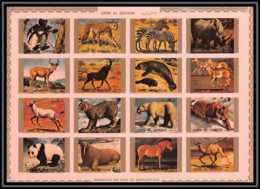0128/ Umm Al Qiwain ** MNH Michel N° 1370 / 1385 Animaux - Animals Non Dentelé ** (imperforate) - Umm Al-Qiwain