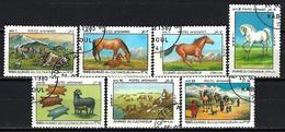 AFGHANISTAN JOURNEE DU CULTIVATEUR 1985 (198) N° Yvert 1206 à 1212 Oblitérés Used - Afghanistan