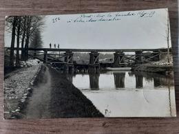Solre Sur Sambre : Pont Sur La Sambre 1919 - Autres