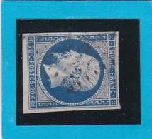 N° 14 A   PC  334   BEAUVOIR-sur-MER  ( 79 )  VENDEE  - REF 14112 + Variété - Ind 12 - 1853-1860 Napoleon III