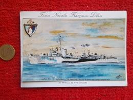 """Amicale Des Anciens Du Destroyer """"la Combattante""""-carte De Voeux - Militari"""