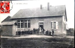 RUERES L'ECOLE ANIMATION FILLES ET GARCONS 1912 - France