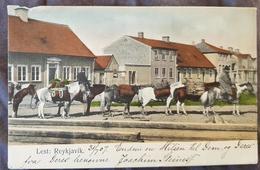Iceland Lest Reykjavik 1907 Failure In Nw - Iceland