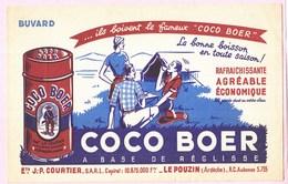 Buvard Boisson Réglisse Coco Boer Anciens 19 - Limonades