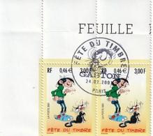 3370    **   Oblitération 1er Jour Fête Du Timbre  Gaston Lagaffe   Voir Description65/02 - Gebraucht