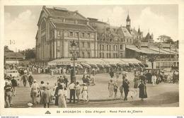 Promotion : PHL 2 X Cpa 33 ARCACHON. Rond Point Et Façade Du Casino Mauresque 1937 - Arcachon