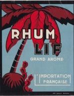 MARTINIQUE(ETIQUETTE RHUM LIF) - Vieux Papiers