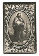 Oud Doodsprentje Jozefus Van Wezemael Zammel Geel 1823-1898 - Andachtsbilder