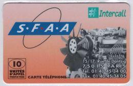 ENCHERE COURTE - Moins De 48h - INTERCALL- Carte Prépayée De France Avec Code (gratté Ou Non) + N° De Série - Voir Scans - France