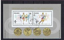 Polen 1984, Block 94 Gestempelt / Cto - Blocks & Kleinbögen