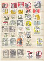 761 Belgie Sluitzegels Van De Soldaat  60 Stuks - Belgique