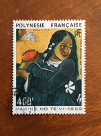 POLYNESIE - VAHINE NO TE VI De GAUGUIN - Y&T PA 183 - Oblitéré TBE - Poste Aérienne