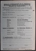 DR Privatpostkarte PP 158 B7-02 Ungebraucht, Emil Biehl, Hellblauer Karton (1485) - Allemagne