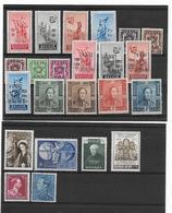 België  Volledige Reeksen  Xx Postfris Cote 54 Euro - Belgique