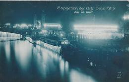 75 PARIS EXPOSITION DES ARTS DECORATIFS VUE DE NUIT Editeur A N 110 - Ausstellungen