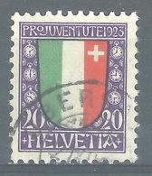 SS-/-244-. N° 194,  Obl.,  Cote 2.50 € . Je Liquide - Switzerland