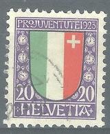SS-/-427-. N° 194,  Obl.,  Cote 2.50 € . Je Liquide - Schweiz